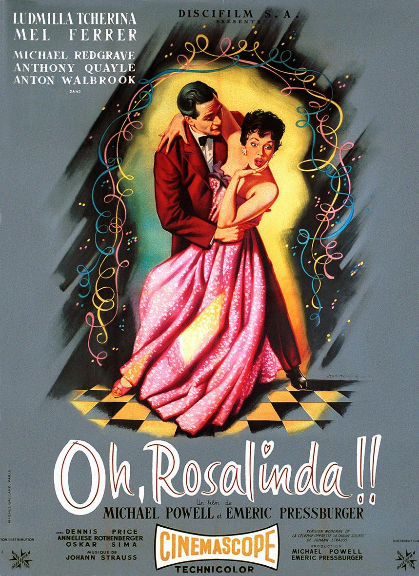 Oh, Rosalinda!