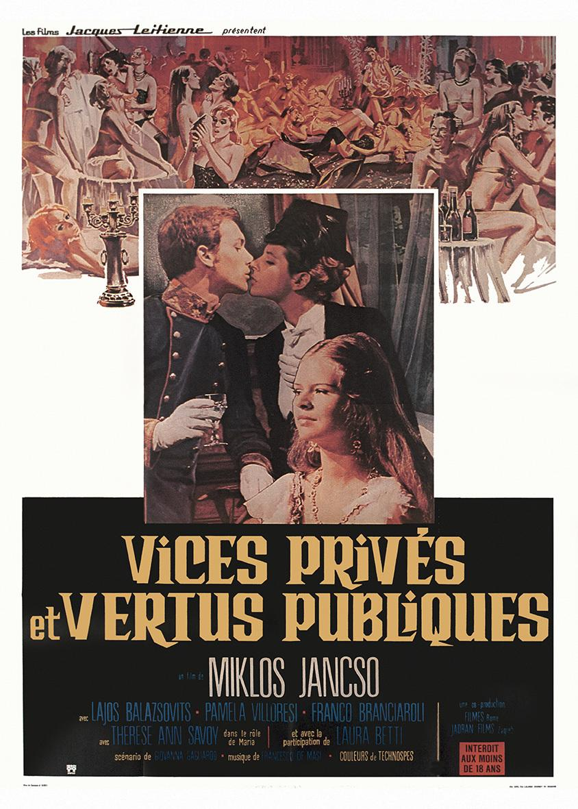 Private Vices and Public Virtues
