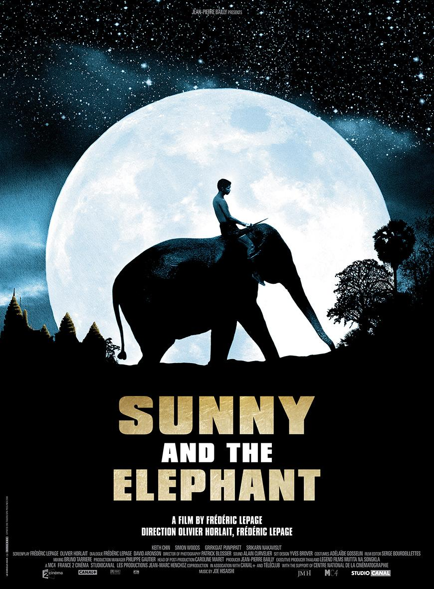 Sunny and the elephant